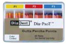 Čepy gutaperčové speciální Dia-ProT DiaDent