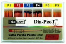Čepy gutaperčové speciální Dia-ProT