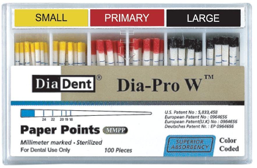 Čepy papírové speciální Dia-ProW DiaDent