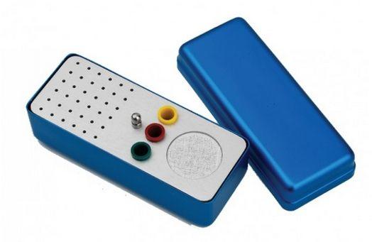 Ukládací endobox Typ A, střední, podlouhlý, kombinovaný, pro ruční a rotační nástroje a čepy DiaDent