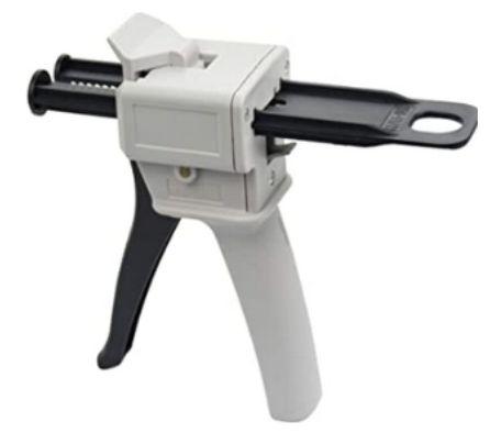 Aplikační pistole DS 50, pro I-Sil premium krém, poměr 1:1 Spident