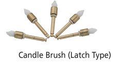 Candle brush - dentální profylaktický štěteček - svíčka DiaDent