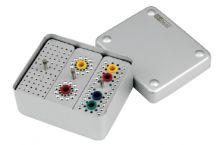 Ukládací endobox střední COMBI pro nástroje a čepy