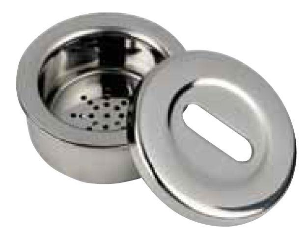 Germicidní kontejner ke sterilizaci vrtáčků - kulatý DiaDent