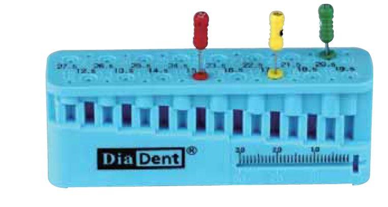 Měřící sada Endo nástrojů DiaDent