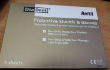 Ochranné celoobličejové štíty Dia-100 FS DiaDent