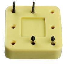 Stojánek pro vrtáčky - magnetický, čtvercový, 8 otvorů DiaDent