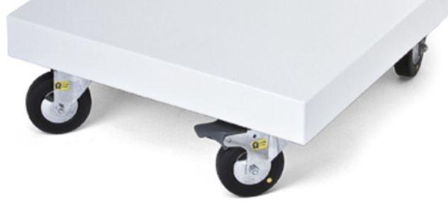 41223-Náhradní antistatická kolečka pro pojízdný stojan pro Vacuson 40/60