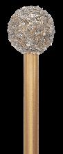 Vysokorychlostní vrtáky, řezné nástroje, D=125 mm, Ø 5.0 - 6.0 mm - 80 000 ot./min. - diamant hrubý