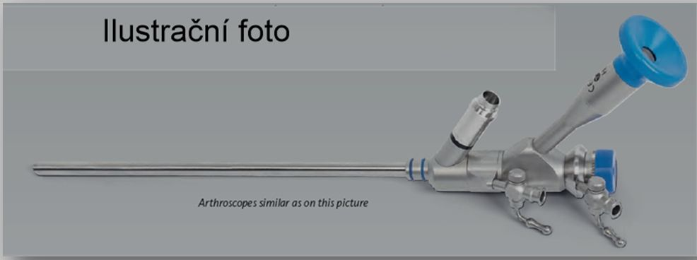 Artroskop - nástroje pro artroskopii Nouvag