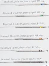 Diamantové vrtáčky pro Oto Drill - nástroje pro ORL
