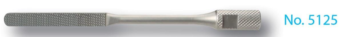 5125nou - karbidový pilník 0.8 mm