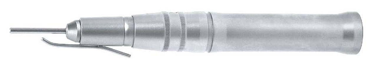 1043nou - Násadec pro chirurgii nohou 4:1, rychloupínání pro Ø 2,35 mm, typ FG, D 40 - 70 mm. (do rychla / do pomala, jen s motorem s 50´000 ot./min.).
