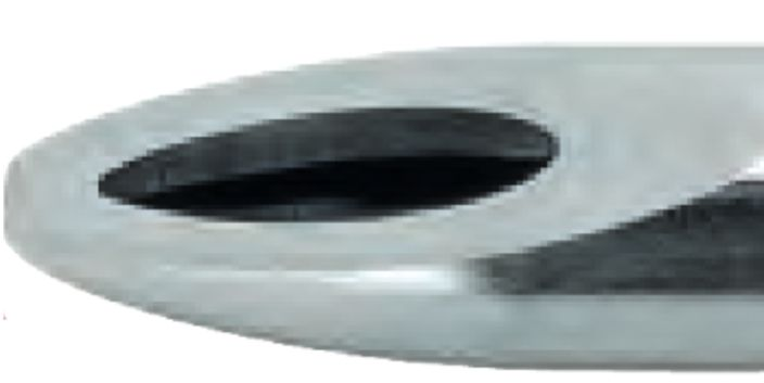 5329 - Pinguin shaver - Ø 4.5 mm, přímý