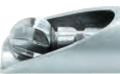 5293 - Hooded burr, 5.5, D = 130 mm přímý