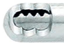 5332 - Tri-Spike  shaver břit, Ø 4.5, D =130 mm, přímý