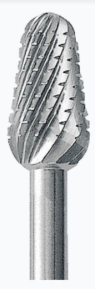 BB.070.040 - Řezný vrták, karbid - bud,  ø 4.0 mm, Iso 040