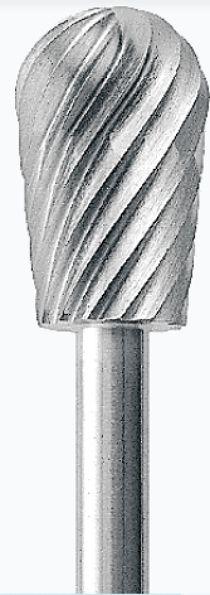 PB.125.060 - Karbid pear - hruška, Ø 6.0 mm
