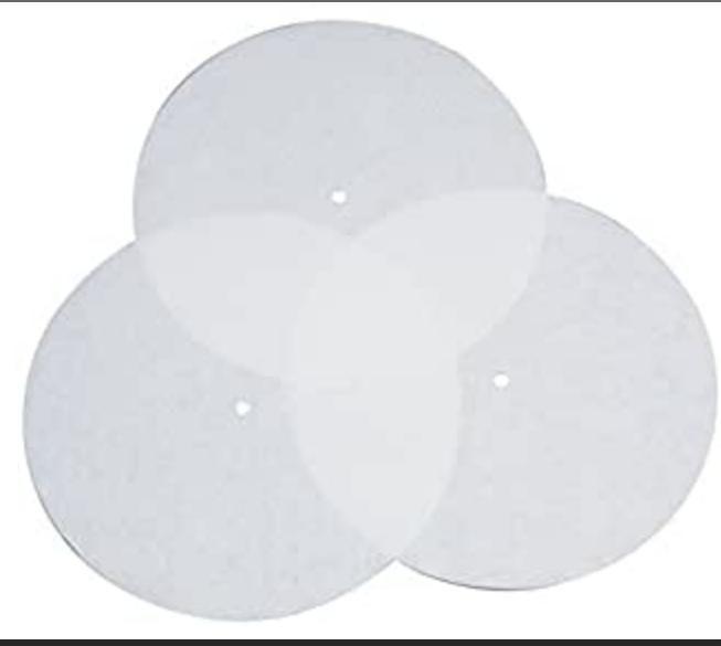 4127 -  filtry pro sterilizační kontejner, Ø, bal. 100 ks, ,,