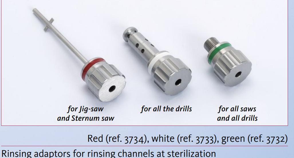 3732 - Oplachovací adaptér zelený - pro všechny přístroje HighTorQ