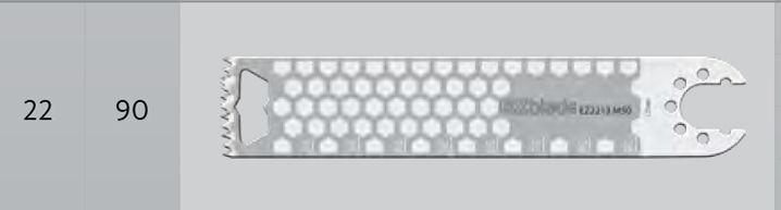 EZ2215.M50 - pilové listy - D =90 mm, Š = 22 mm, T = 1.47 mm