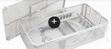 3740 - Sterilizační košík pro bezdrátové vrtačky(pily) vč.víka
