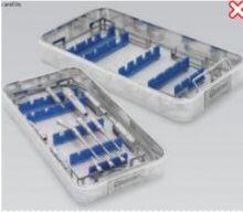 4132 - Sterilizační košík s fixací pro neurochirurgické násadce