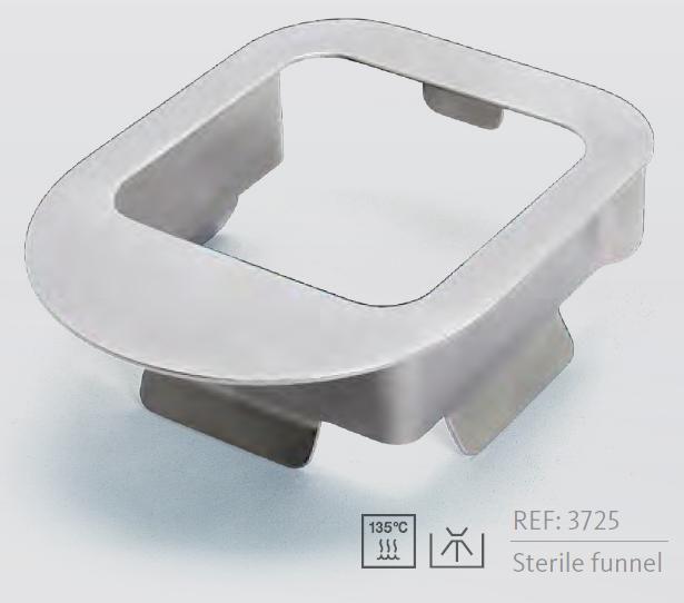 3725 - Sterillizovatelný sterilní trychtýř